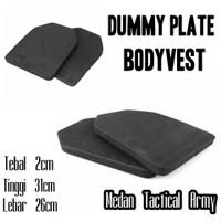 Dummy Plate Busa Eva Foam Kevlar Anti peluru Replika Berkualitas