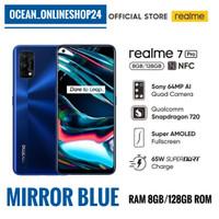 REALME 7 PRO RAM 8GB 128GB MIRROR BLUE - NFC - SUPER AMOLED - SDM 720G