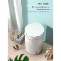 Mesin Cuci Mini Oping 4.5KG Mesin Cuci Portable UV Light Anti Bacteria