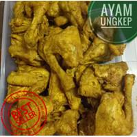 AYAM UNGKEP BUMBU KUNING   1 kg isi 9pcs  fresh PRAKTIS TINGGAL GORENG