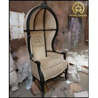 Kursi Sofa Untuk Studio Photo / Sofa Kursi Balon / Sofa Kerodong Kayu