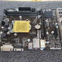 Mianboard h81 onboard vga soket 1150 memory ddr3 merk asrock