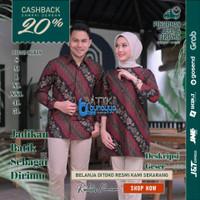 Baju Batik / Batik pasangan / Batik Couple / Batik Sarimbit / Dres G08