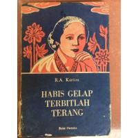 Buku Habis Gelap Terbitlah Terang R.A Kartini