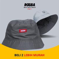 Topi Bucket Pria - Bucket Hat Pria murah ROSAL
