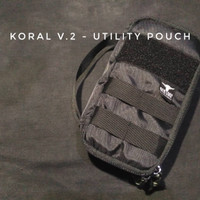 Banteng Wulung Tactical - Utility Pouch, Koral-v.2