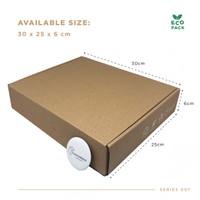 Box Packaging (30.0x25.0x6.0 cm) Kardus Premium Ready Stock