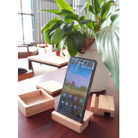Dudukan Ponsel Kayu - Tatakan Hp - Docking Phone - Phone Holder