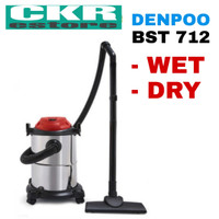 Vacuum Cleaner Denpoo Wet & Dry & Blow Drum BST-712