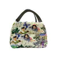 Lunch Bag / Cooler Bag Tas Bekal Secret Garden Krem Kamalika Artprints
