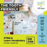 Bright Box X Ruth Amigia - THE TOOTH FRIENDLY - LEARN ALPHABET & STEM