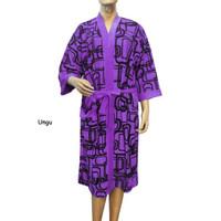 Handuk kimono dewasa motif kotak handuk model baju dewasa berenang