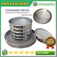 1Pc x 10-100 Mesh/Alat Saringan/Ayakan Stainless Steel Tahan Lama