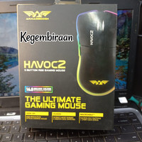 Mouse Armageddon HAVOC2 Gaming RGB 5 BUTTON Gaming Mouse