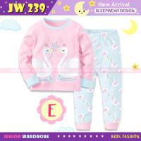 Piyama Baju Tidur Anak Bordir Swan Angsa I Love Mom JW239-E