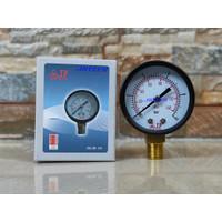 JP HX-50 1/4 INCH (BESAR) PENGUKUR TEKANAN POMPA AIR (PRESSURE GAUGE)