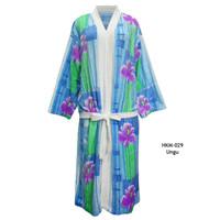 Handuk kimono dewasa handuk model baju dewasa handuk berenang bunga