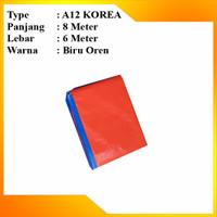 Terpal plastik Korea berkwalitas tebal ukuran 6 x 8 type A12 original