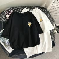 SUN T-shirt - Kaos Santai Wanita / Pria Unisex fit To XL Oversize