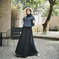 Cyra skirt/ plisket skirt basic premium/ rok plisket/ rok pleated