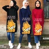 atasan muslim blouse kaos oblong baju hamil Baju santai