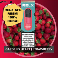 Relx Infinity Pod Pro GARDENS HEART / STRAWBERRY Cukai 100%