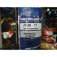 Ban luar Metzeler Sportec Street 70 / 90 -17 TUBLESS untuk motor bebek