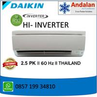 DAIKIN Air Conditioner 2.5 PK, 60HZ With Inverter R32