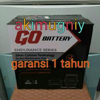 aki mobil ns60l go battery 12v 50ah grand livina evalia march datsun