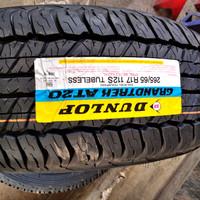 Ban dunlop 265/65R17 grandtrek AT20 pajero fortuner