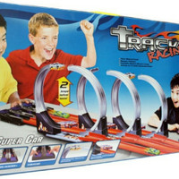 mainan track racing hot wheels arena balap mobil mobilan 3 jalur