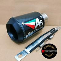 silincer knalpot AR austin racing NINJA 250 - R25 - MT25 - Z250