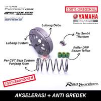 Paket Akselerasi plus anti gredek Nmax / Aerox 155 / Lexi 125