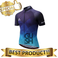 MILOTO Baju Olahraga Sepeda Pria Bahan Jersey Dry Fit