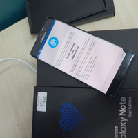 Samsung Note FE 4/64GB fullset minus layar retak,Tompel Sein
