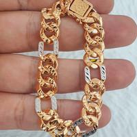 gelang sisik naga variasi mt emas 70% 700 70 % cukitan