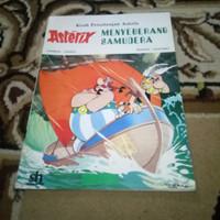 Kisah Petualangan Asterix  Menyebrang samudra