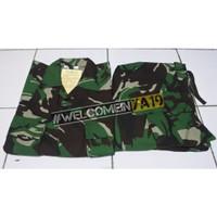 Baju Setelan PDL TNI Loreng Malvinas SRItex (Produksi)