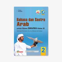 BUKU BAHASA & SASTRA ARAB SMA/MA KELAS XI PEMINATAN REVISI