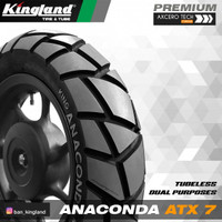 Ban Motor Scoopy - Kingland Anaconda ATX7 110/90-12 TL (not IRC, FDR)