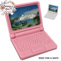 Miniatur Laptop - Miniatur Gadget - Aksesoris Rumah Barbie -Doll House