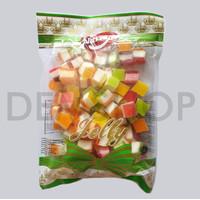 NARAYA PERMEN JELLY SANDWICH 400 gr / jelly kotak tumpuk manis