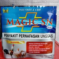 Magic SN Blue Magic SN Biru Msgic SN Obat Anti Snot CRD Obat Pernafasa