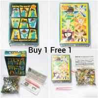 Mini Puzzle Phineas and Ferb Perry si platipus 204 pcs Artbox Disney
