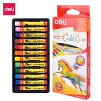 Crayon Deli / Oil Pastel Rich Color 12 Warna Pendek - EC20200