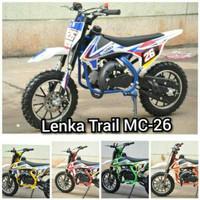 Motor Mini Lenka 50cc Mini Trail Lenka MC 26 Mini Moto Motor Bensin