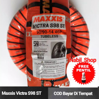 Maxxis Victra 90/90-14 ban motor matic beat lexi dual compound me
