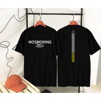 T-shirt No Smoking / Kaos Distro / Pria / Wanita #COD