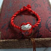 Gelang Bayi/ Anak Maneki Kucing Pemanggil Hoki