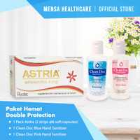 Paket Hemat Double Protection - Astria + Cleandoc TwinPack
